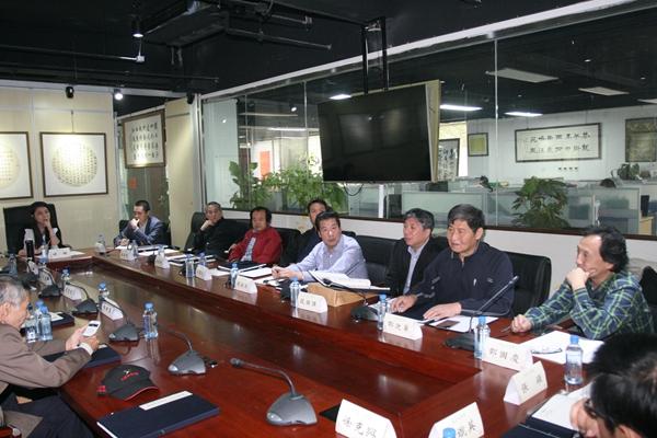 刘俊京养生书画探索研讨展在国学典籍馆举办