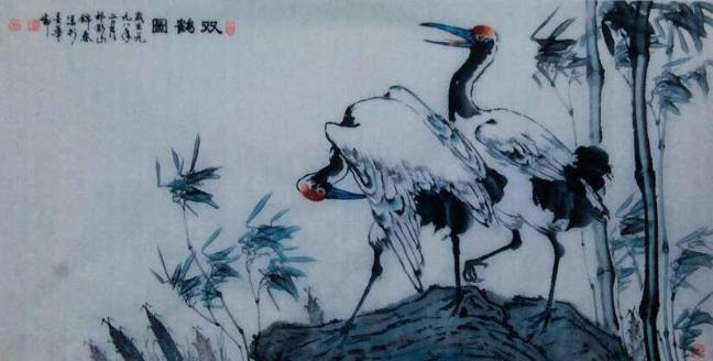 书画名家雒锦春艺术欣赏