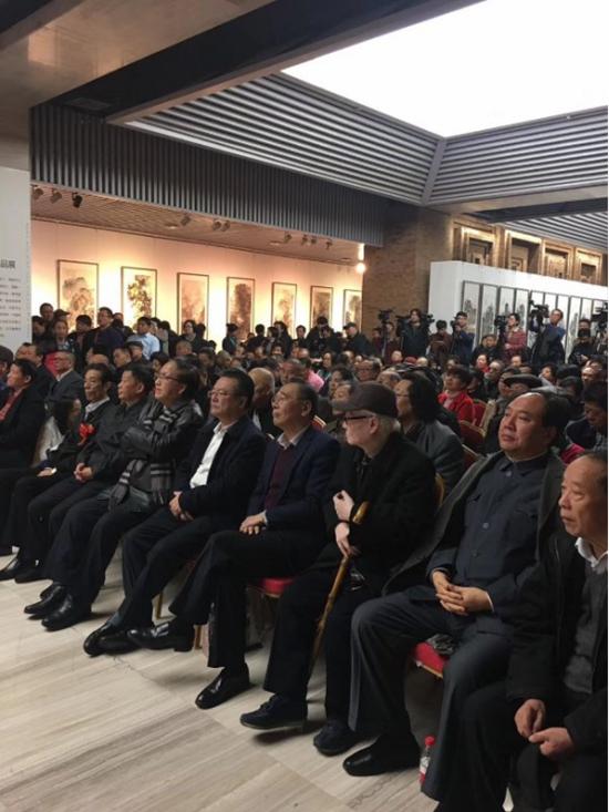 郑瑰玺画展在中国国家画院国展美术中心隆重开幕