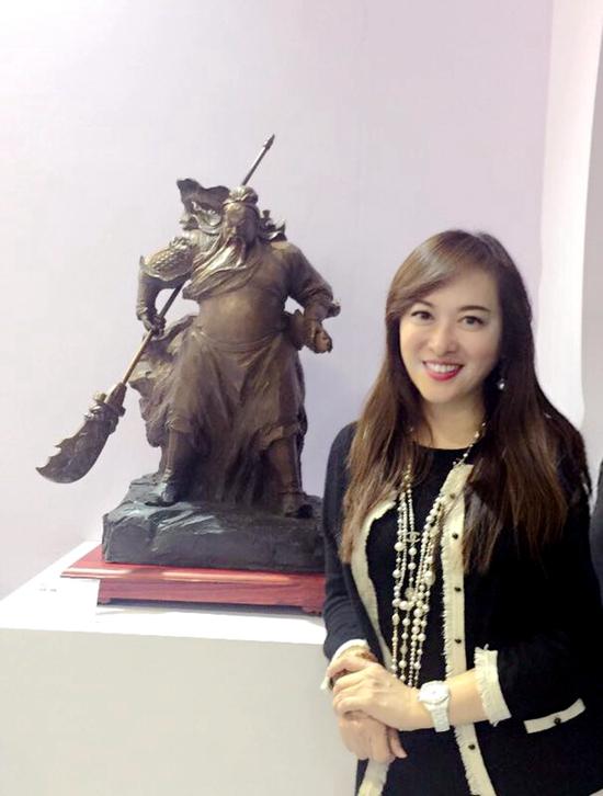 安和工坊精雕工艺亮相2017中国国际珠宝展