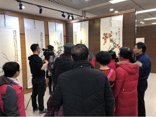 """2017京津冀文化交流活动之""""大运河的记忆""""书画展"""