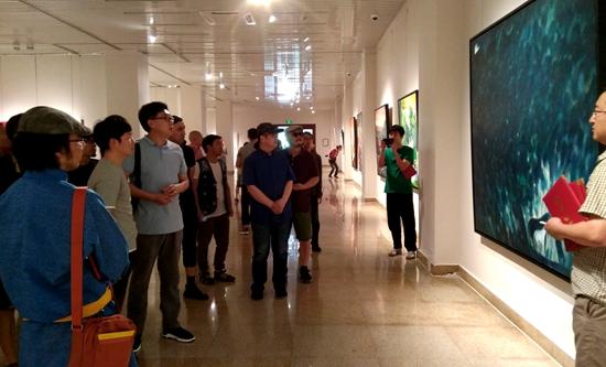 西部少数民族地区中青年高级美术人才研修班创作展暨创作研讨会在京举办