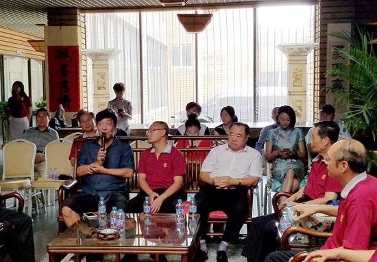 庆祝建军90周年砚文化主题展暨庆八一、忆传统、喜迎十九大座谈会在京举行