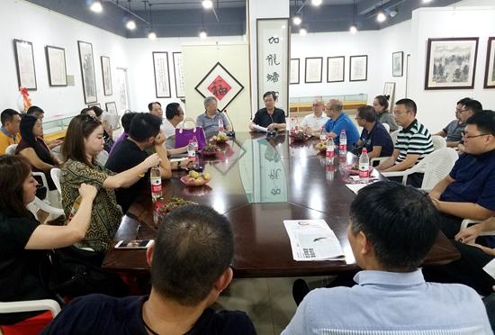 艺术金融博士课程班赴潍坊银行进行第四次授课