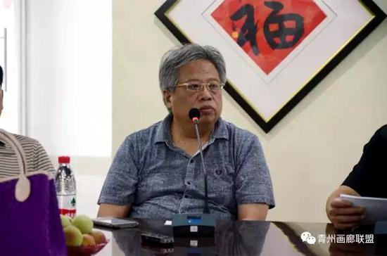 """西沐带队文化部、西安交大""""艺术金融博士课程班""""青州调研采风"""