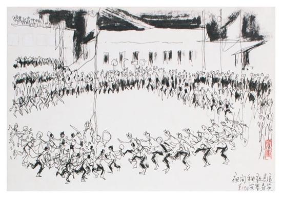 人民的画家――姚奎艺术作品特展在长春举行