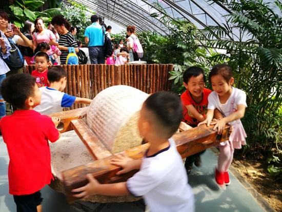 西城区非凡宝贝幼儿园走进汉风耕读苑参观体验