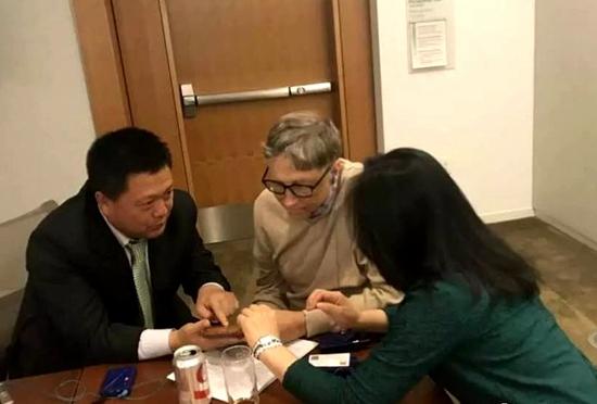 比尔、盖茨先生收藏青州红丝砚《上善若水》