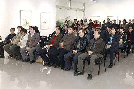 """""""守正创新――中国画创作研究院学术提名展""""(第二期)在京开幕"""