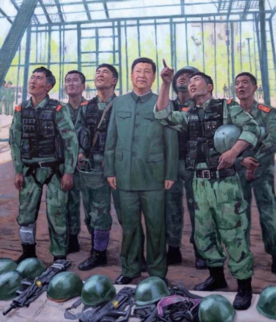 与改革同行 展时代风采――武警部队第三届美术书法摄影作品展在京开幕