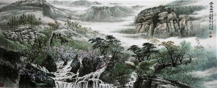 融古出新 自成一家――论画家吴维道及其山水画艺术